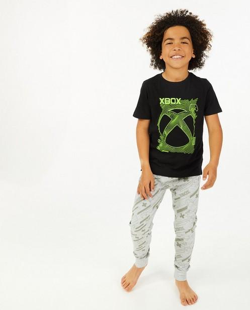 Zwarte pyjama met print Xbox  - tweedelig - Playstation