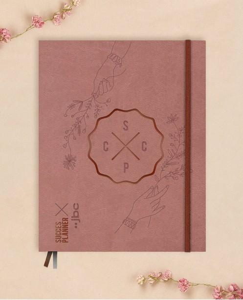 Roze SuccesPlanner - 19 x 24,5 cm - SuccesPlanner