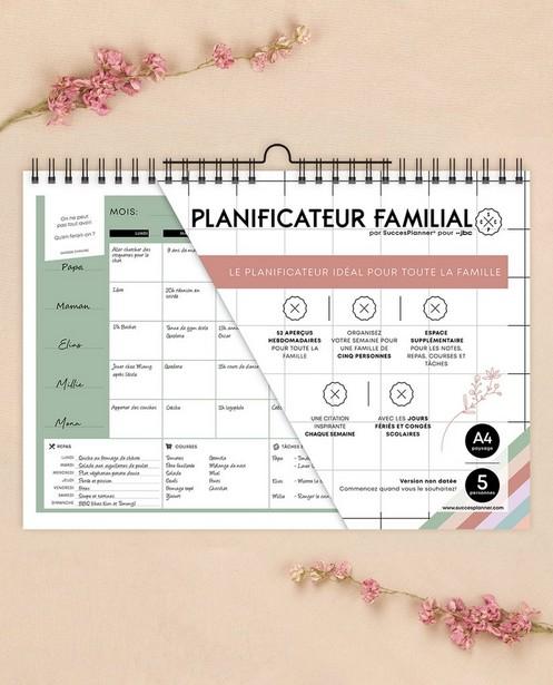 Planner familial FR SuccesPlanner - en français - SuccesPlanner