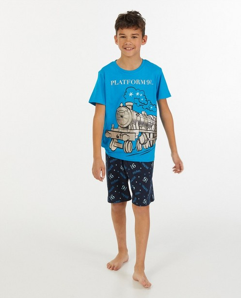 Pyjama bleu foncé Harry Potter - à imprimé - JBC