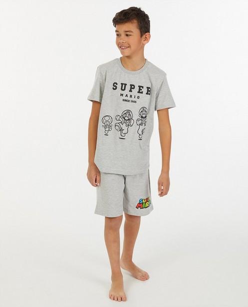 Pyjama gris Mario - deux pièces - JBC