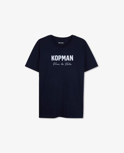 Blauw kopman T-shirt Vive le vélo