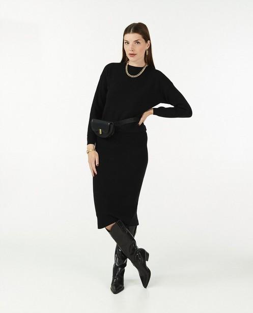 Jupe en tricot à relief côtelé Sora - avec du stretch - Sora