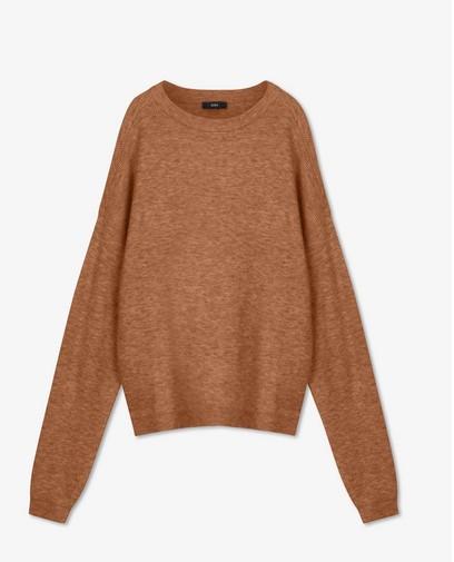 Pull en tricot à relief côtelé Sora