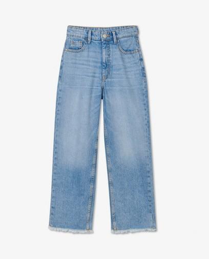 Lichtblauwe straight jeans Steffi Mercie