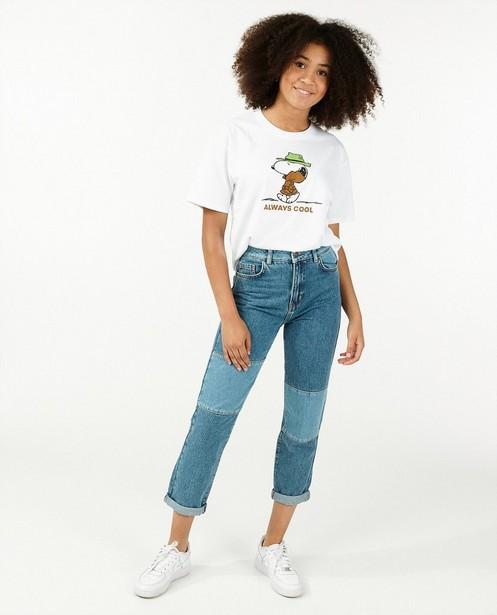 T-shirt en coton bio à imprimé Snoopy - avec du stretch - Groggy