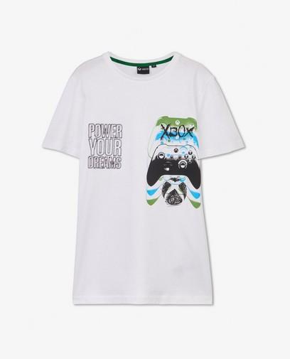 T-shirt blanc Xbox à imprimé - unisexe