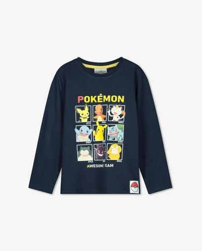 Unisex longsleeve met print Pokémon