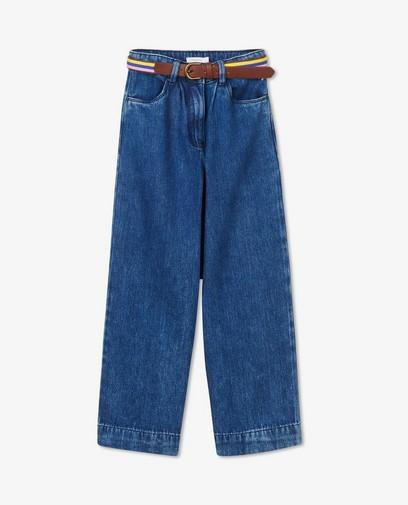 Blauwe broek van lyocell Hampton Bays