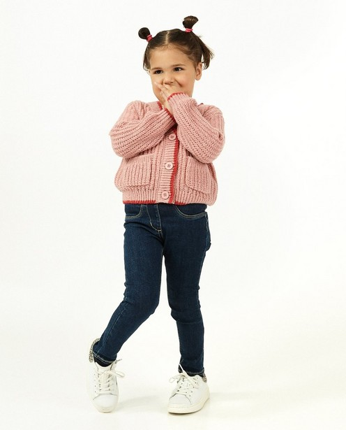 Blauwe jegging Elise, 2-8 jaar - stretch - JBC