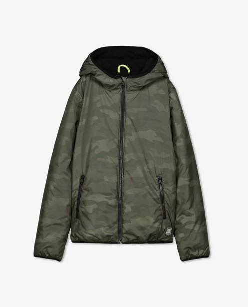 Veste à imprimé camouflage s.Oliver - noire - S. Oliver