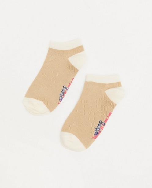Chaussettes beiges Steffi Mercie - socquettes - Steffi Mercie