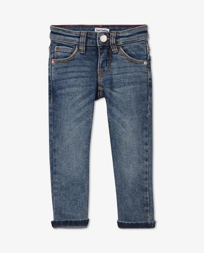 Jeans slim bleu délavé Simon