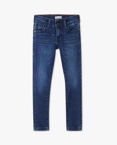 Jeans super skinny bleu foncé Noah