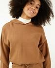 Pulls - Hoodie gris en fin tricot