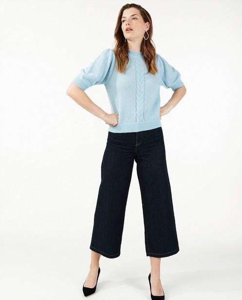 Pull à torsades en tricot Sora - avec 5% de laine - Sora