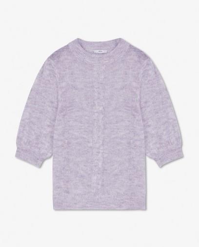 Pull à torsades en tricot Sora