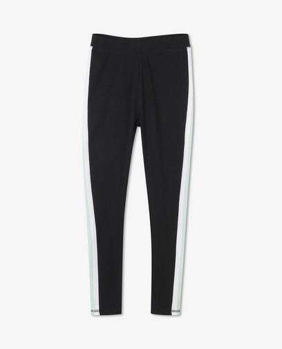 Zwarte legging met streep BESTies