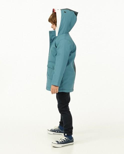 Veste de pluie bleue - requin - imperméable - Kidz Nation