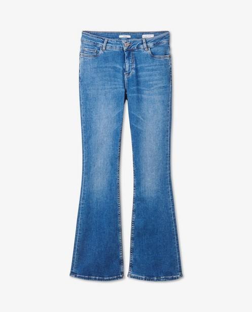 Blauwe bootcut jeans Cloë Sora - stretch - Sora