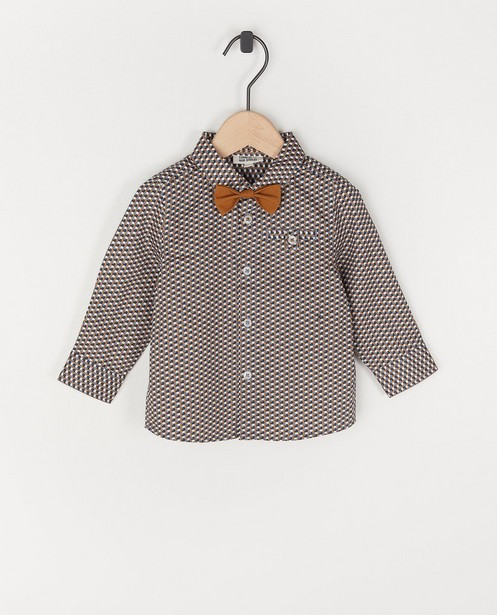 Katoenen hemd met strik Feest - premium - Cuddles and Smiles