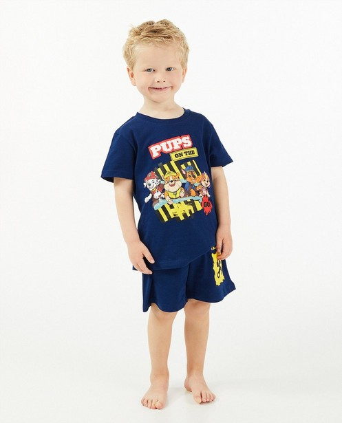 Blauwe Paw Patrol-pyjama met print - tweedelig - JBC