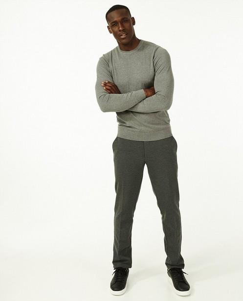 Pantalon de costume gris - chiné - Iveo