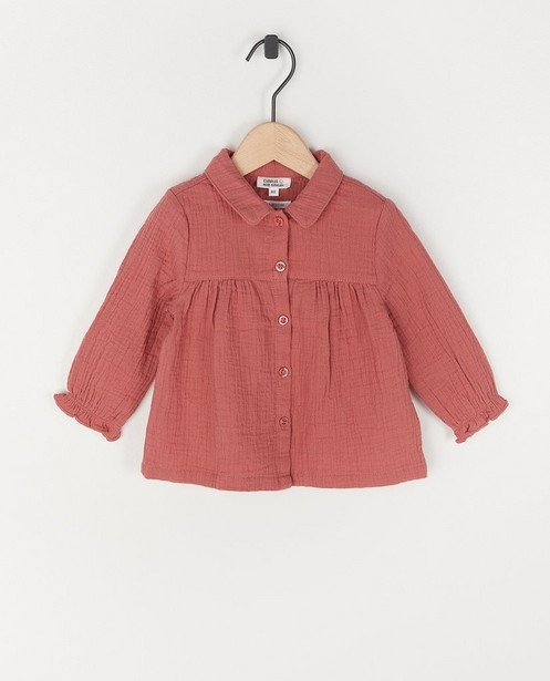 Donkerroze hemdje van tetra - Donkerroze hemdje van tetra - Cuddles and Smiles