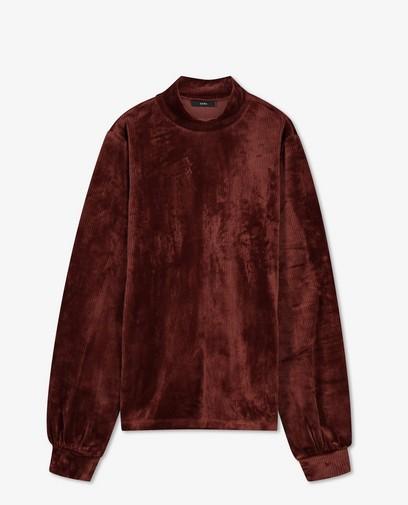 T-shirt à manches longues brun rouge Sora