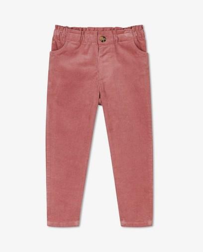 Pantalon en velours côtelé Samson & Marie
