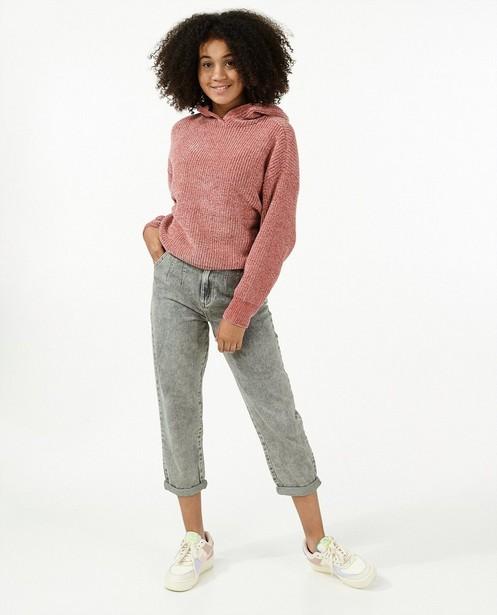 Jeans Mom gris - avec du stretch - Groggy
