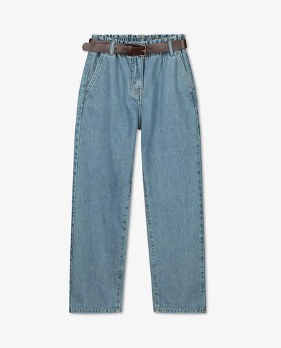 Blauwe mom jeans Sam