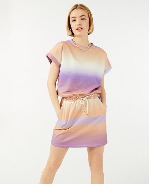 T-shirt met gradiëntprint Ella Italia - stretch - Ella Italia