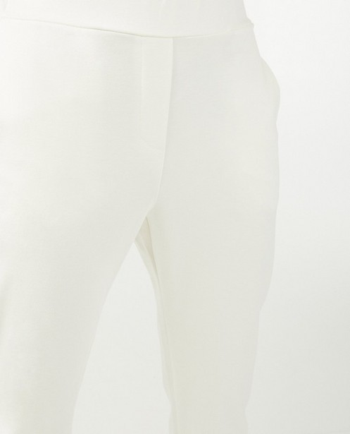 Witte broek Ella Italia - stretch - Ella Italia