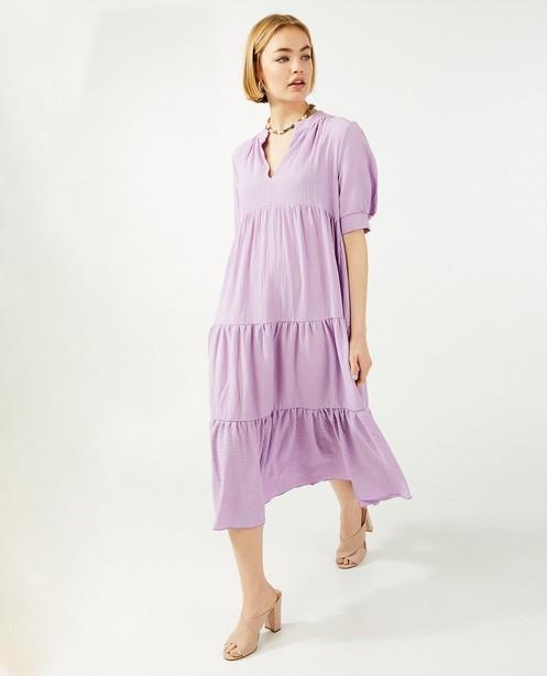 Kleedjes - Lila jurk Ella Italia