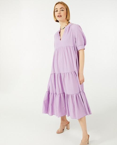 Robes - Robe lilas Ella Italia