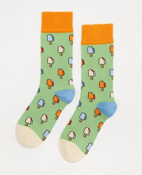 Biokatoenen kousen Dilly Socks, 36-40 - met allover print - Dilly Socks