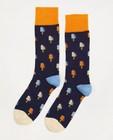 Chaussettes en coton bio Dilly Socks, pointure 41-46 - à imprimé de glaces - Dilly Socks