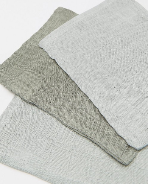 Babyspulletjes - 3 hydrofiele washandjes Jollein