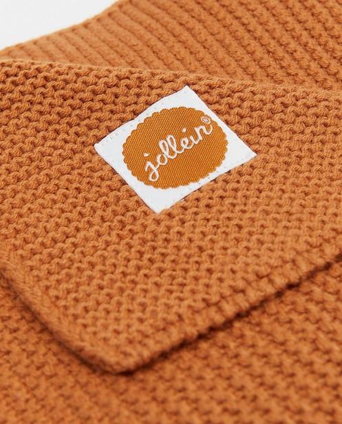 Accessoires pour bébés - Couverture en tricot 75 x 100cm Jollein
