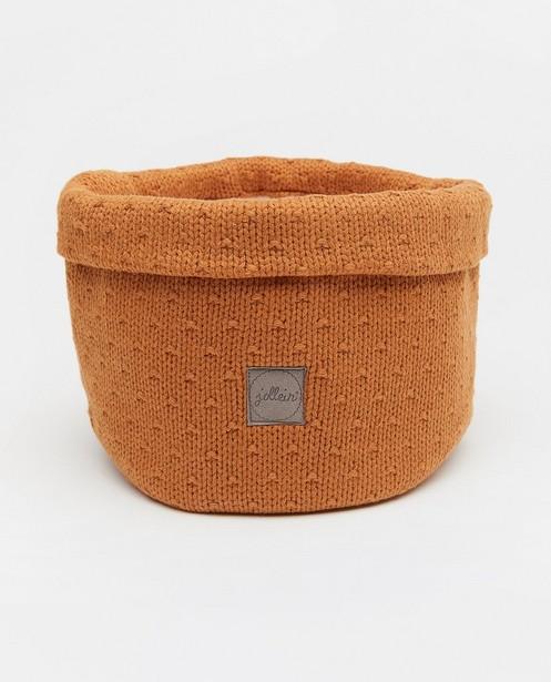 Panier de rangement tricoté Jollein - diamètre de 18cm - Jollein