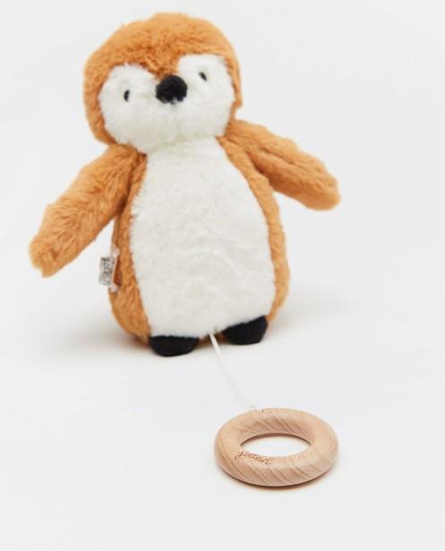 Accessoires pour bébés - Suspension musicale caramel pingouin Jollein