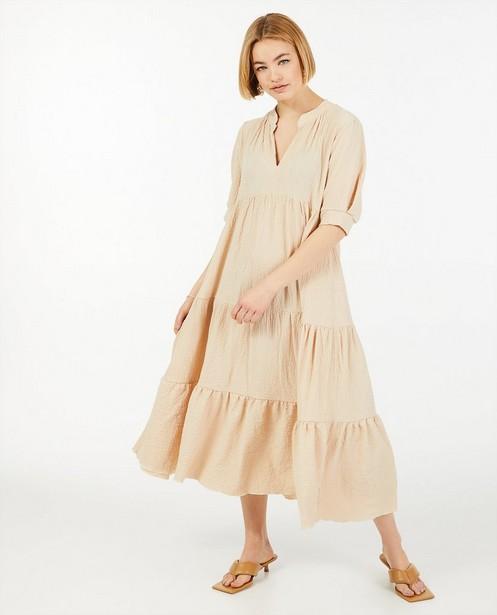 Robes - Robe beige Ella Italia