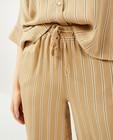 Pantalons - Pantalon palazzo à rayures Ella Italia