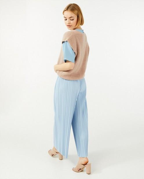 Débardeur avec des boutons Ella Italia - fin tricot - Ella Italia