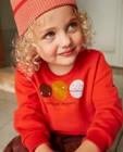 Unisex sweater met print fred + ginger - met print - Fred + Ginger