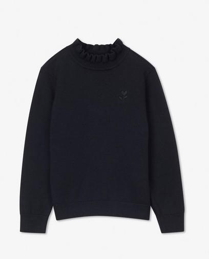 Donkerblauwe trui BESTies