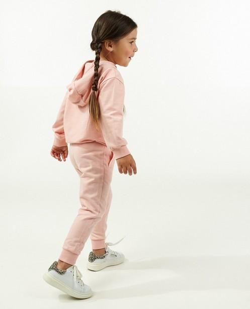 Roze jogger BESTies - stretch - Besties
