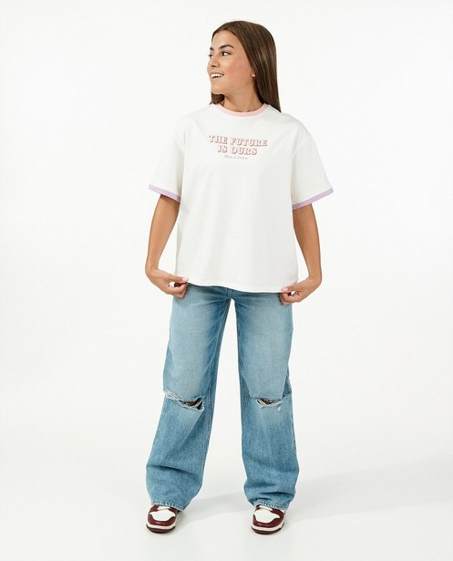 Ripped mom jeans Nour en Fatma - stretch - Nour en Fatma