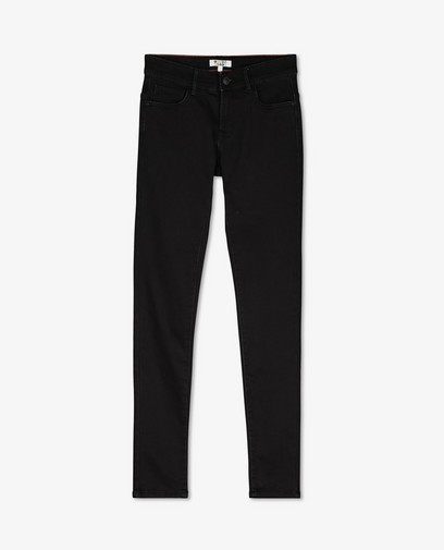 Zwarte super skinny broek Noah